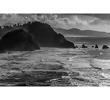 Offshore Rocks in the Pacific 1 Photographic Print