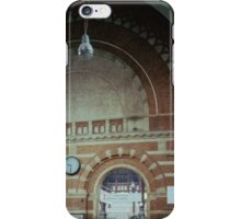 Brickwork Railway Station Copenhagen Denmark 19840625 0001  Ektachrome Elite 400 iPhone Case/Skin