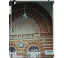 Brickwork Railway Station Copenhagen Denmark 19840625 0001  Ektachrome Elite 400 iPad Case/Skin