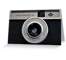 AGFA ISO-RAPID Ic Greeting Card