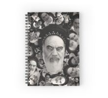 Horned Ayatollah Monsters Spiral Notebook
