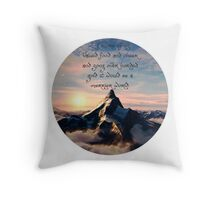 Thorin's Speech- BOTFA Throw Pillow