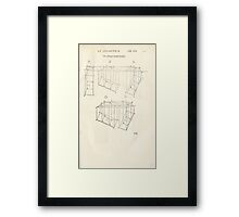 Famous Painter Parts Human Body Symmetry Four Books Geomety 1557 Albrecht Durer 0241 Boxes Position Framed Print