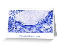 Sketch for Information Metaphor Greeting Card