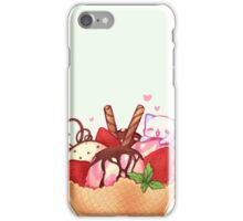 I love ice-cream! iPhone Case/Skin
