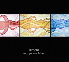 Primary - Red, Yellow, Blue by Keith Nesbitt