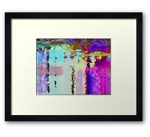 The Mirror in the Water Framed Print
