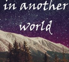 Walks In Starlight- The Hobbit Sticker
