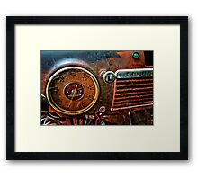 A Little Rusty Framed Print