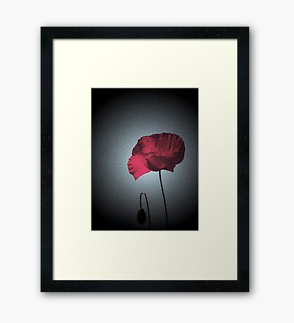 Dark Remembrance Framed Print