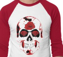 Roses Are Red.. Diamonds Are Bloody Men's Baseball ¾ T-Shirt