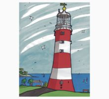Plymouth Hoe Lighthouse One Piece - Short Sleeve