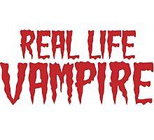 Real Life Vampire Photographic Print