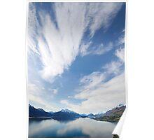 Lake Wakatipu  Sky New Zealand Poster