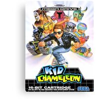 Kid Chameleon Mega Drive Cover Canvas Print