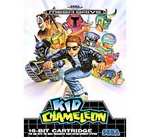 Kid Chameleon Mega Drive Cover Photographic Print