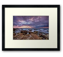 Sunrise- Maroubra  Framed Print
