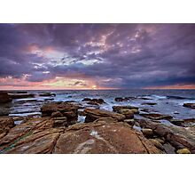 Sunrise- Maroubra  Photographic Print