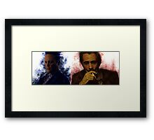 True Detective s2 - Ray Velcoro and Frank Semyon Framed Print