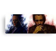 True Detective s2 - Ray Velcoro and Frank Semyon Canvas Print