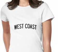 Miley Cyrus West Coast Womens Fitted T-Shirt