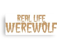 Real Life Werewolf Canvas Print