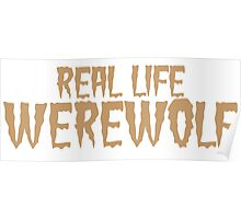 Real Life Werewolf Poster
