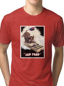 Material Conservation - Jap Trap - WW2 Tri-blend T-Shirt
