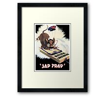 Material Conservation - Jap Trap - WW2 Framed Print