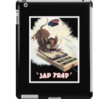 Material Conservation - Jap Trap - WW2 iPad Case/Skin