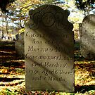 Seward 1700's Revolutionary War Cemetery, Killingworth Connecticut by kailani carlson
