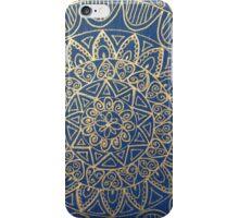Mandala blue  iPhone Case/Skin
