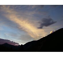 Silverton Sunset Photographic Print