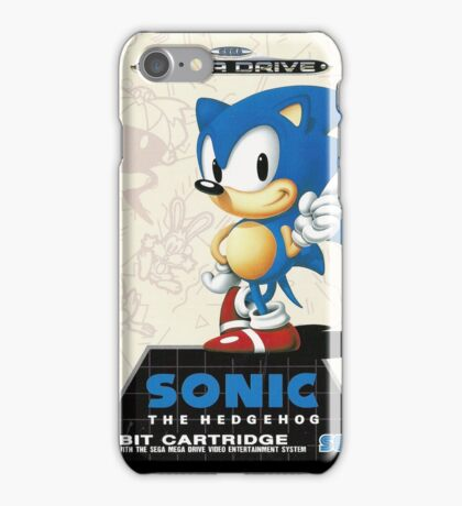Sonic the Hedgehog Mega Drive Cover iPhone Case/Skin