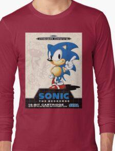 Sonic the Hedgehog Mega Drive Cover Long Sleeve T-Shirt