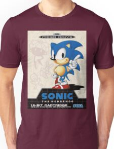 Sonic the Hedgehog Mega Drive Cover Unisex T-Shirt