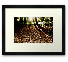 Walkers with the Dawn Framed Print