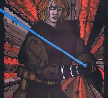 Anakin Skywalker, Star Wars by Spencer Holdsworth Art