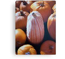 The Pumpkin Congregation Canvas Print