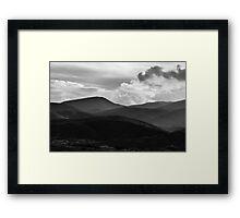 Last Brush Of Sunlight Framed Print
