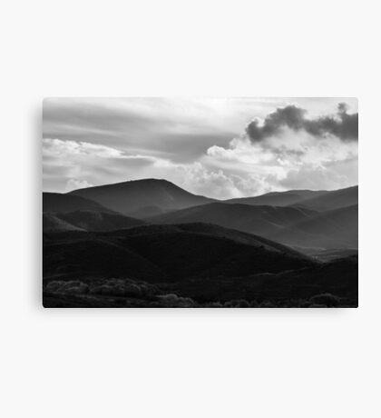Last Brush Of Sunlight Canvas Print