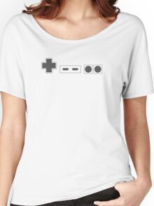 NES Controller Buttons - Dark Women's Relaxed Fit T-Shirt