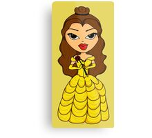 Disney Princess (Bratz) - Belle Metal Print