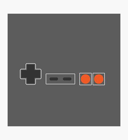 NES Controller Buttons - Colour Photographic Print