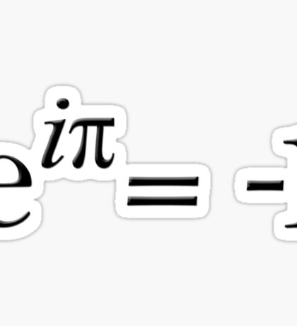 Euler is cool Sticker