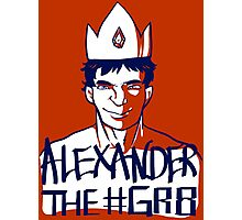 Alexander the GR8 Photographic Print