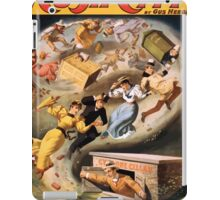 Poster 1890s From Rush City to Cactusville via the cyclone's wave performing arts poster 1894 iPad Case/Skin