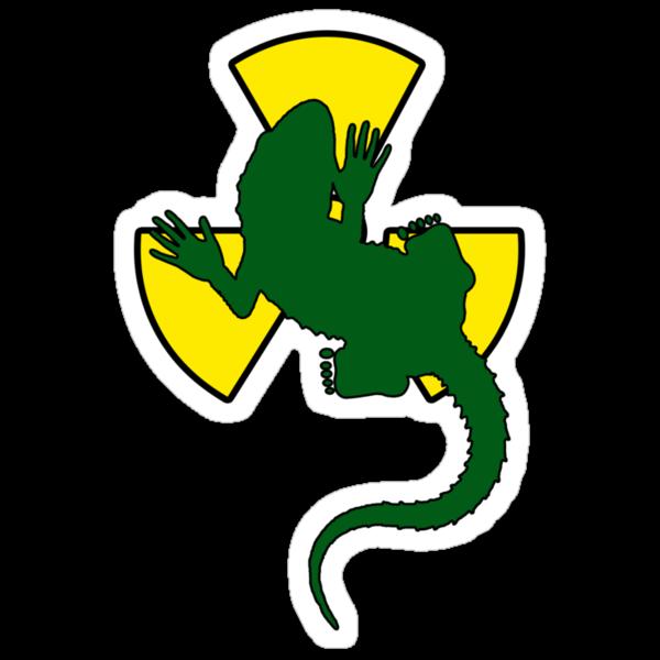 Radioactive Gecko by Denis Marsili - DDTK