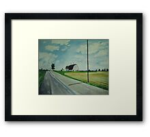 Indiana Framed Print