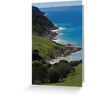 Pink Bay near Cape Willoughby - Kangaroo Island, South Australia Greeting Card